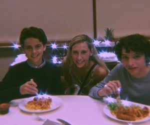 finn wolfhard, jack dylan grazer, and it cast image