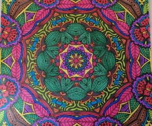 renkler, mandala, and pembe image
