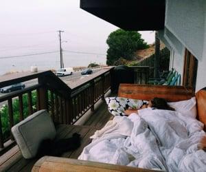 beach, coast, and comfort image