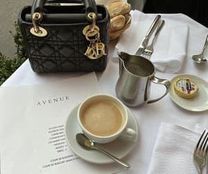 coffee, dior, and bag image