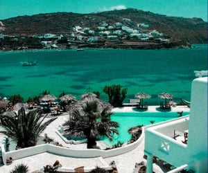 summer, Greece, and holiday image