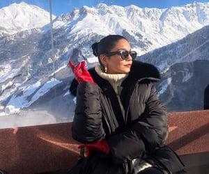 actress, winter, and beautiful image