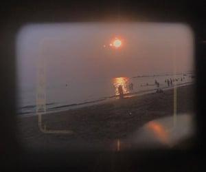 beach, film, and vintage image