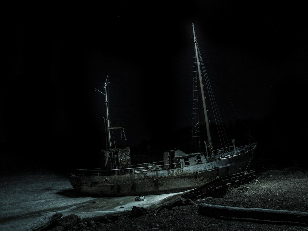 abandoned, article, and drown image
