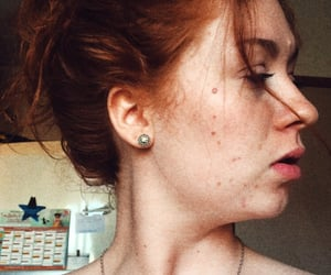 beautiful, face, and ginger image