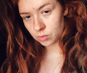 beautiful, curly, and face image
