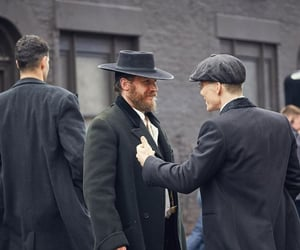 actor, cillian murphy, and tom hardy image