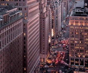 buildings, city, and new york image