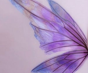 aesthetic, fairy, and purple image