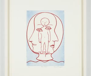 etchings, Louise Bourgeois, and art image