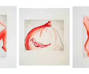 art, etchings, and Louise Bourgeois image