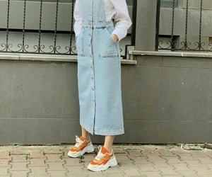 accessories, jeans, and shoes image