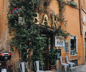 bar, italy, and rome image