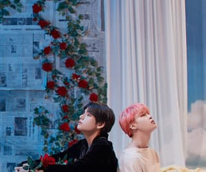 v, tata, and park jimin image