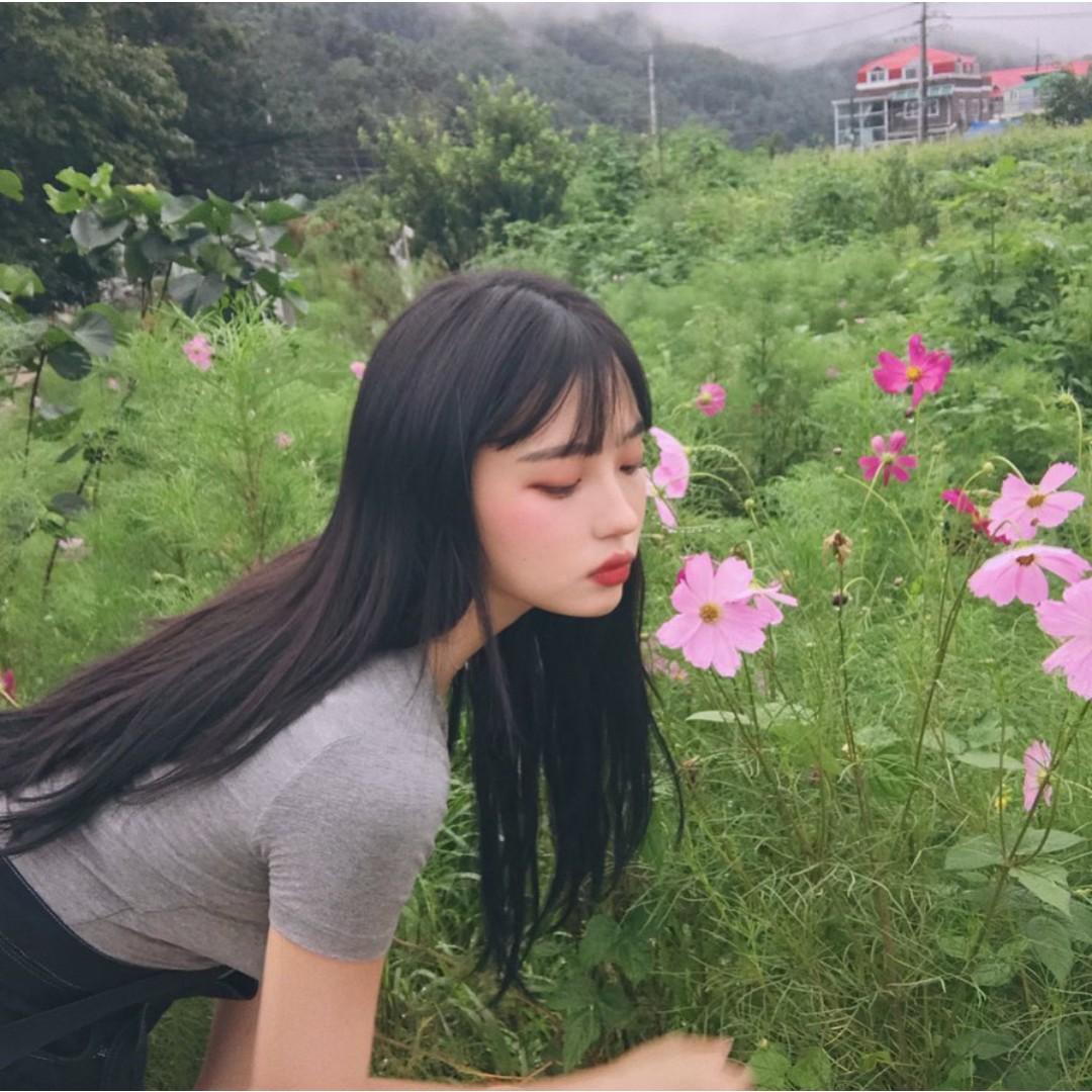 asian, nature, and ulzzang girl image