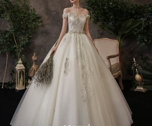 bridal, affordable wedding dress, and bridal gown image