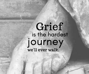 grief, quotes, and sadness image