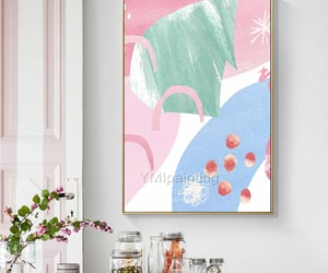 abstract art, Abstract Painting, and wall pictures image
