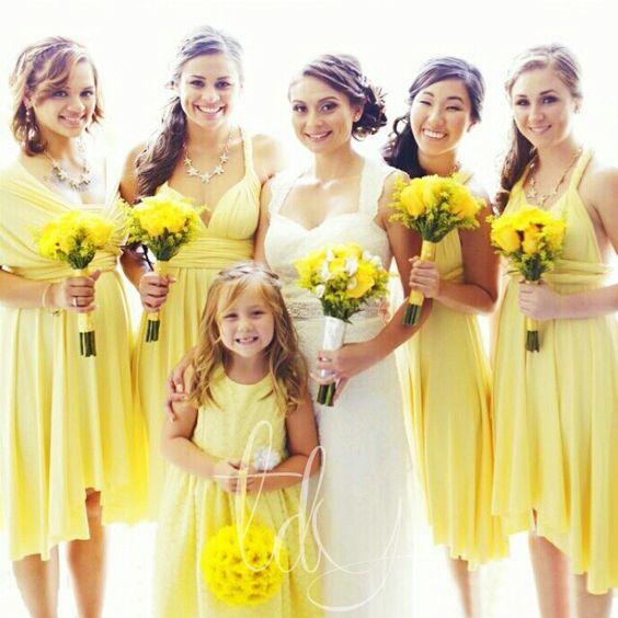 2020 yellow bridesmaid dresses short chiffon cheap infinite wedding guest dresses 2021 dama dresses