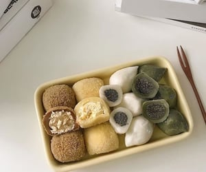 food, mochi, and japanese image