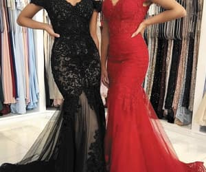 evening gown, black evening dress, and 2021 evening dresses image
