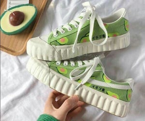 avocado, sneakers, and aguacate image