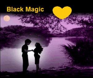 black, convince, and magic image
