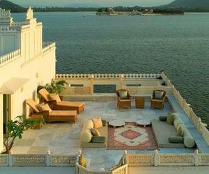 architecture, taj lake palace, and india image