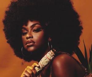 aesthetic, orange, and melanin image