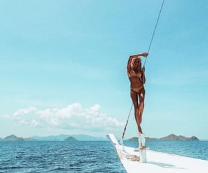 fashion, inspiration, and ocean image