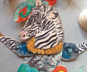 animal art, paper doll, and gift for sea lover image