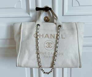 chanel, style, and white bag image