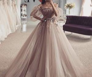 dress, fashion, and woman image