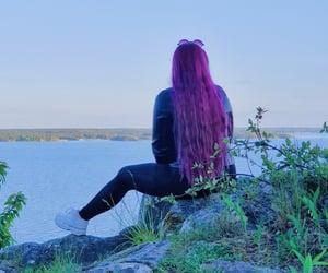 beautiful, photography, and purple image