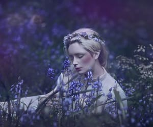 dreamy, meadow, and ethereal image