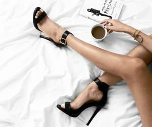 body, shoes fashion, and higheels image