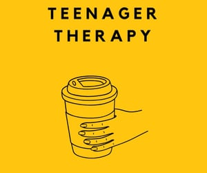 podcast, teenager, and therapy image