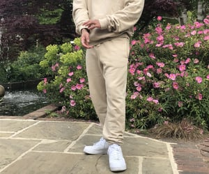 beige, men, and @aesthetic image