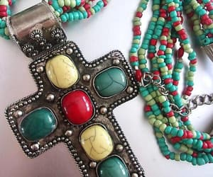 etsy, cross jewelry, and cabochons image