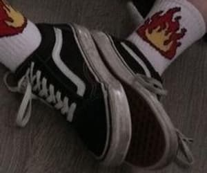 vans, aesthetic, and shoes image