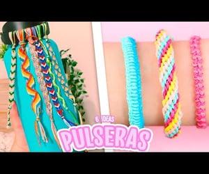 bracelets, crafts, and pulseras image