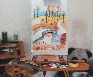 art, beauty, and bridge image
