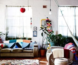 artsy, interior, and color image