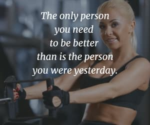 fitness, motivational quote, and fitspiration image