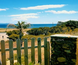 blue sky, corse, and holiday image