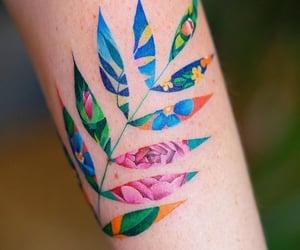 seoul, tattoo, and colorful image