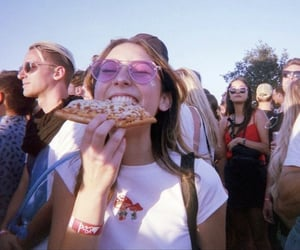 aesthetic, beauty, and pizza image