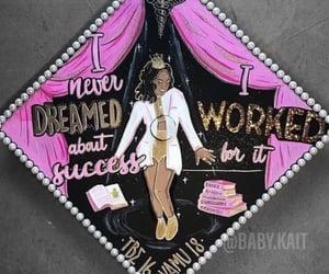 pink and graduation cap image