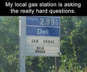 deli, lol, and sign image