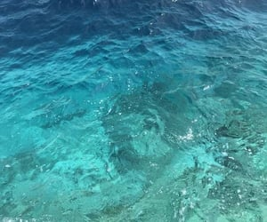 ocean, blue, and beach image